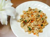 玄米ご飯チャーハン